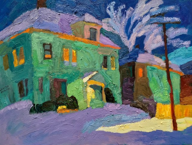 , 'Winter Twilight,' 2017, Paul Scott Gallery & galleryrussia.com