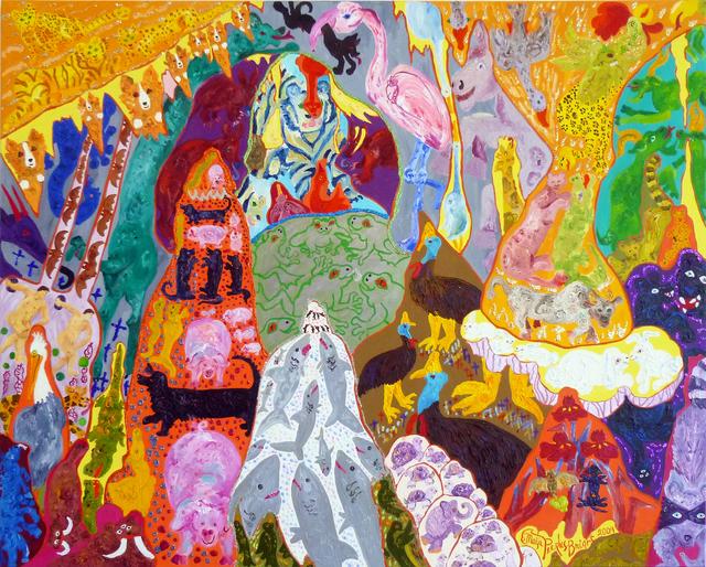 , 'Woofus Vitruivus & Bat Apple Among the Cavern's Inhabitants (Carlsbad Caverns),,' 2009, Transmission Gallery