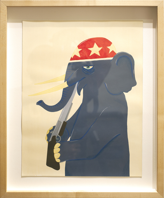 , 'Political Animal,' 2014, Subliminal Projects