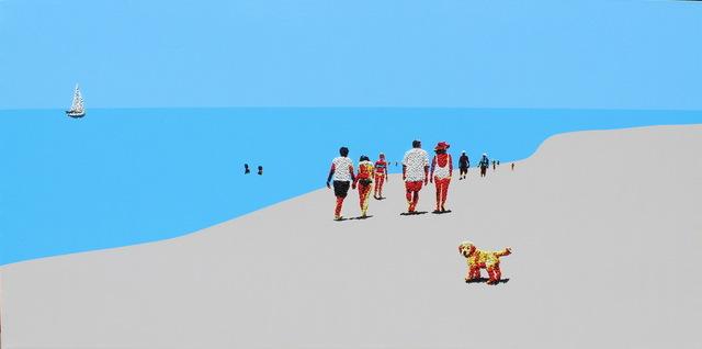 , 'Beach Mood 2,' 2018, Contempop Gallery