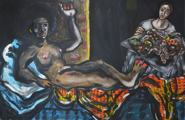 , 'Angela Davis As Manet's Olympia,' 2016, Ethan Cohen New York