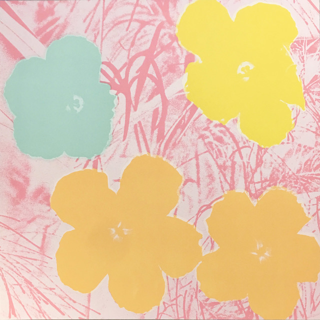 Andy Warhol, 'Flowers II.70', 1970, Print, Screenprint on paper, Pop Fine Art