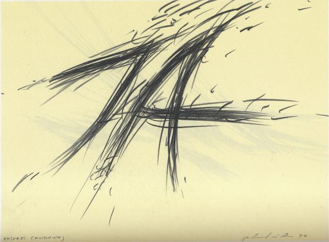 , 'Raserei ( JA / NEIN),' 1976, Christine König Galerie