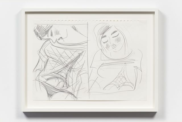 , 'Untitled (Two Drawings),' 2011, Gavin Brown's Enterprise