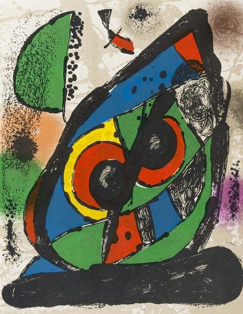Joan Miró, 'Lithographies IV', 1982, Forum Auctions