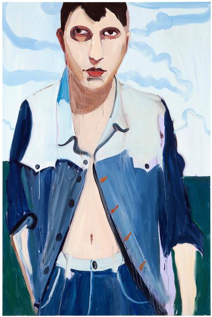 , 'Brunette with Clouds,' 2013, Galerie Forsblom