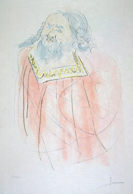 Salvador Dalí, 'Jeremiah', 1975, Print, Etching, Goldmark Gallery