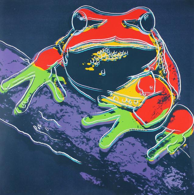 Andy Warhol, 'Pine Barrens Tree Frog (FS II.294) ', 1983, Gormleys Fine Art