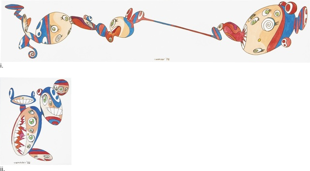 Takashi Murakami, 'Untitled: a pair', 1998, Sotheby's