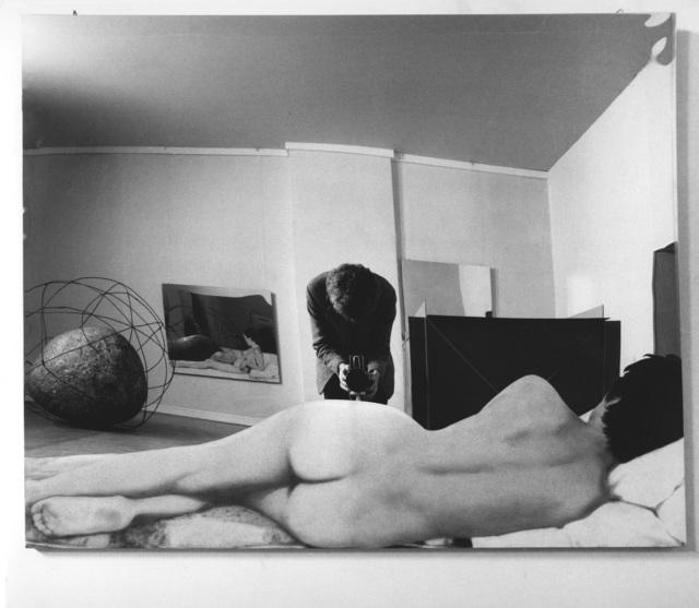 Ugo Mulas, 'Room of Michelangelo Pistoletto, Vitalità del negativo nell'arte italiana 1960-1970 Palazzo delle Esposizioni, Rome, 1970', Robilant + Voena