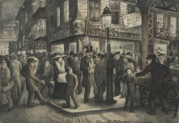 , 'The Bowery,' 1928, Childs Gallery