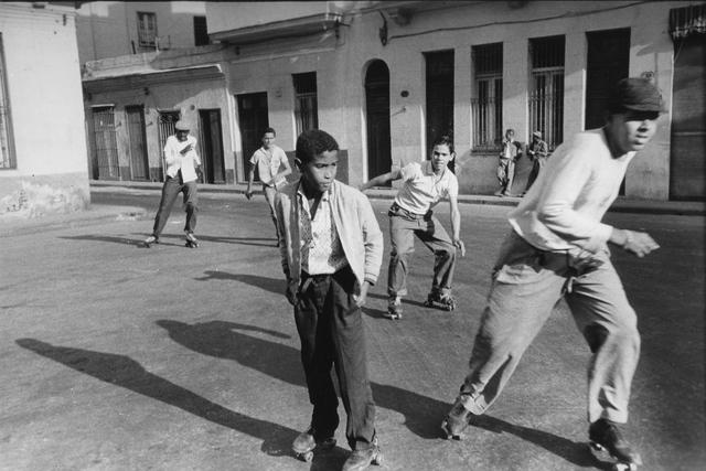 , 'Boys with roller skates, Havana (Cuba series),' 1962, Galerie Nathalie Obadia