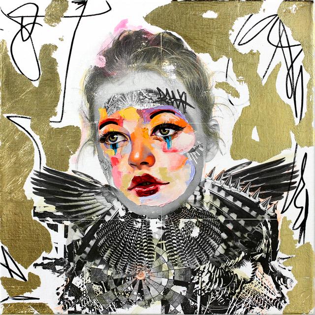 ", '""Golden Girl"",' 2018, Parlor Gallery"