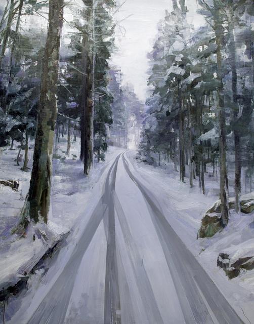 , 'Winterreise,' 2014, Flowers