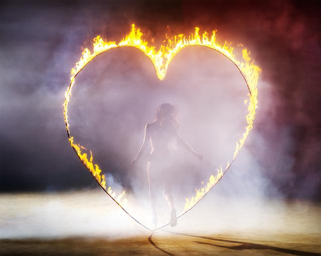David Drebin, 'Heart Of Fire', 2013, Photography, Digital C-Print on Archival Paper, Isabella Garrucho Fine Art