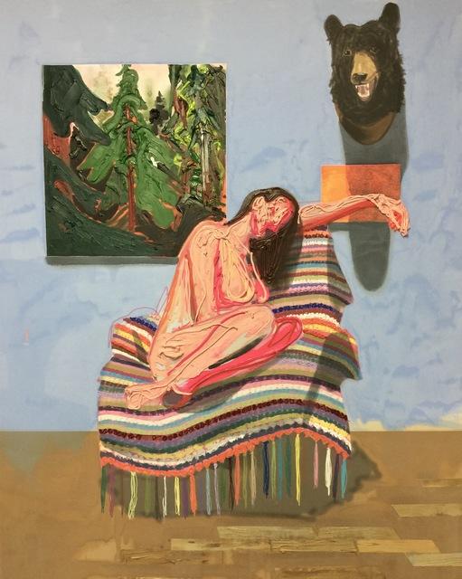 , 'Blanket,' 2016, Galerie Antoine Ertaskiran