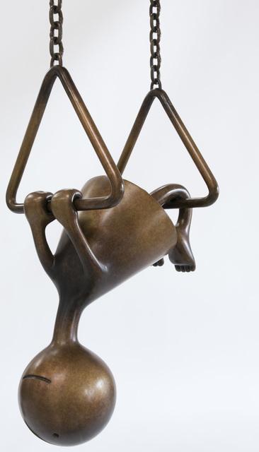, 'Girl Upside Down,' 2017, Marlborough Gallery