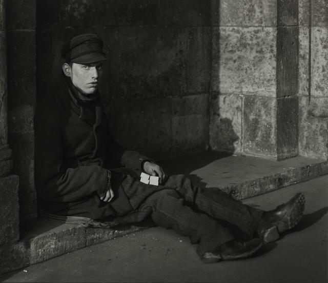 August Sander, 'Match-seller, 1927', Galerie Julian Sander
