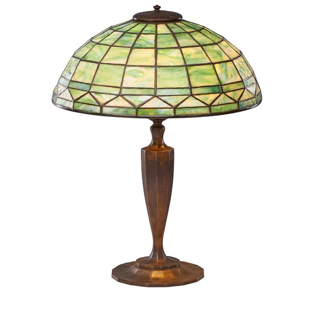 Tiffany Studios, 'Colonial Table Lamp, New York', Early 20th C., Rago/Wright
