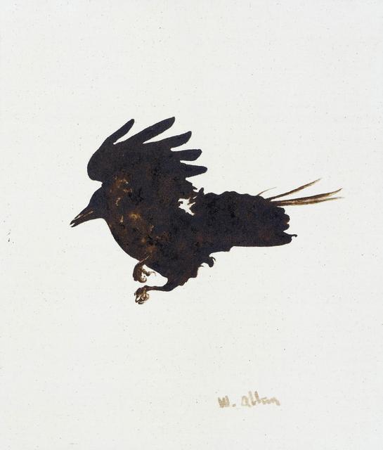 , 'Crow #3,' 2016, Anglim Gilbert Gallery