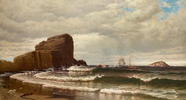 , 'Rocky Shoreline,' , Questroyal Fine Art