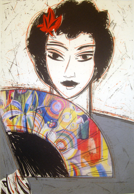 , 'Dama con Abanico II,' 2007, Marlborough Gallery