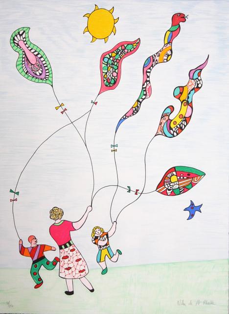Niki de Saint Phalle, 'Les Cerfs-Volant ', 1995, Denis Bloch Fine Art