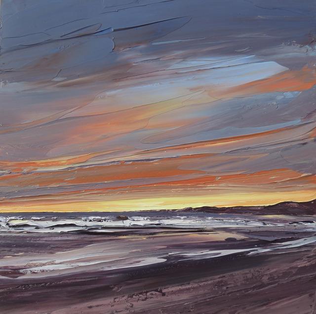 , 'Machair Sunset, Islay,' 2017, Thackeray Gallery