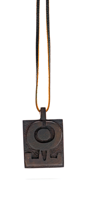 Hannes Harrs, 'Wooden Pendant', Strauss & Co
