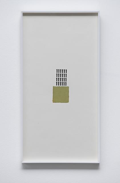 , 'Untitled (Toquinho),' 1972, Galeria Luisa Strina