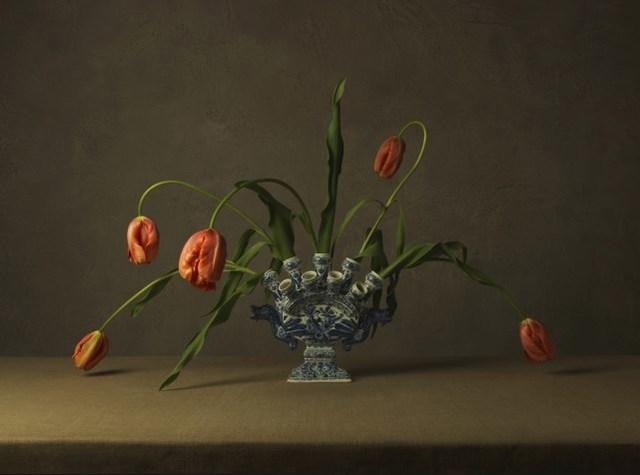 , 'Vase and Orange Tulips,' 2015, Photo12 Galerie