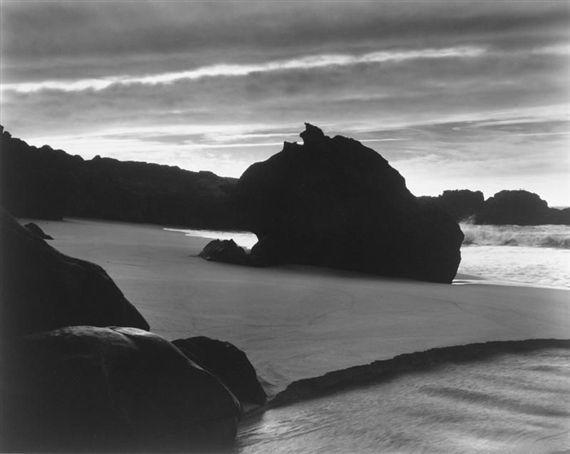 Brett Weston, 'Sundown, Garrapata Beach', 1962-printed mid 1970s, Scott Nichols Gallery