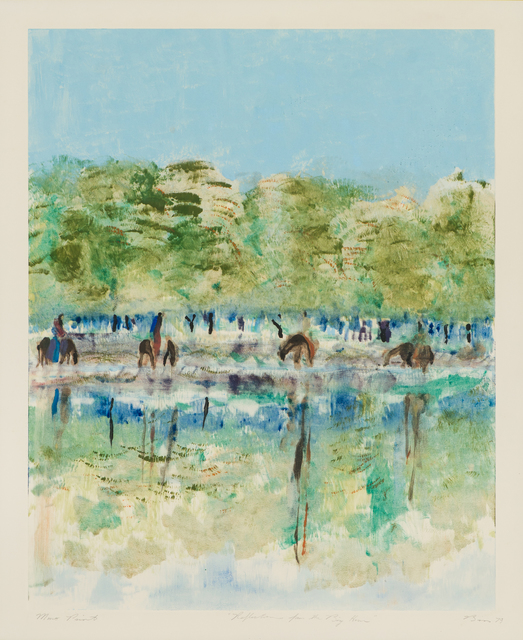 Earl Biss, 'Reflections from The Big Horn', 1979, Larsen Gallery
