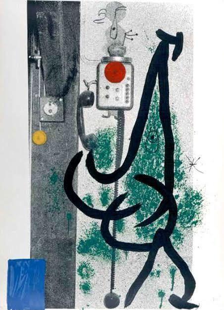 Joan Miró, 'Le Demoiselle au Telephone', 1971, Vertu Fine Art