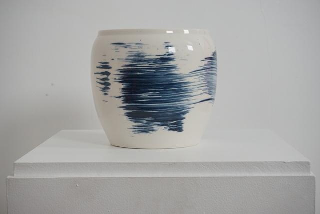 , 'Porcelain vessel ,' 2018, Henry Saywell
