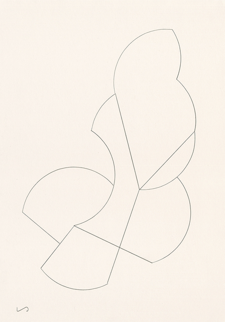 Liam Stevens, 'Automatic Line Sculpture (#1-3)', 2016, Drawing, Collage or other Work on Paper, Pencil on Paper, Jason Shin