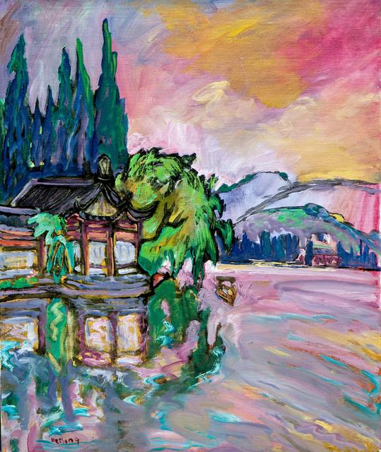 , 'Tea House On A Lake,' , Pucker Gallery