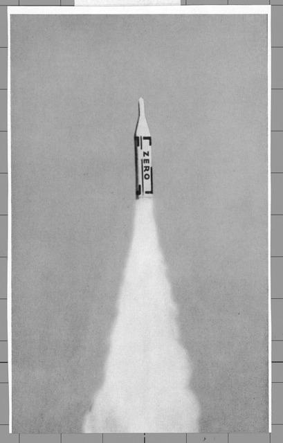 , 'Illustration from ZERO Vol. 3,' 1961, Guggenheim Museum