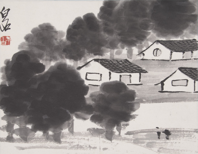 , 'Rural Village,' ca. 1930, Noguchi Museum
