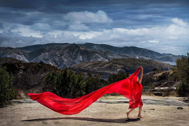 David Drebin, 'Red Mountains', 2018, CHROMA GALLERY