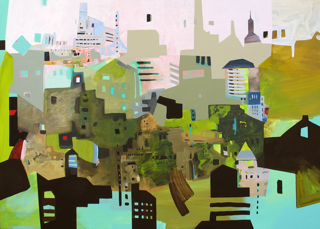, 'Solidity City,' 2013, Garvey | Simon