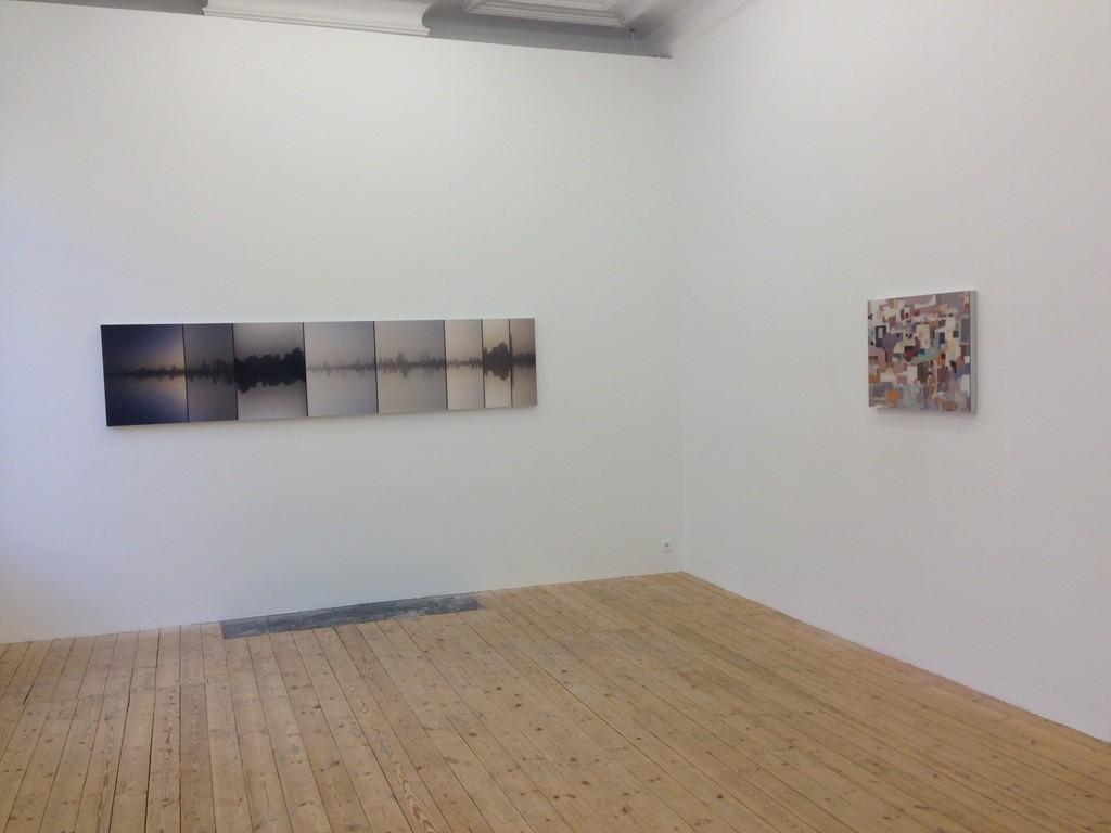 Installation view, Steve Sabella