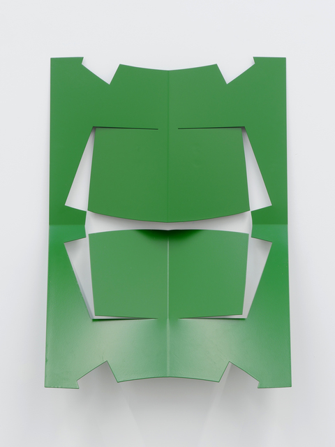 , 'C.Ar.D. Cutout (Leaf Green),' 2016, Altman Siegel