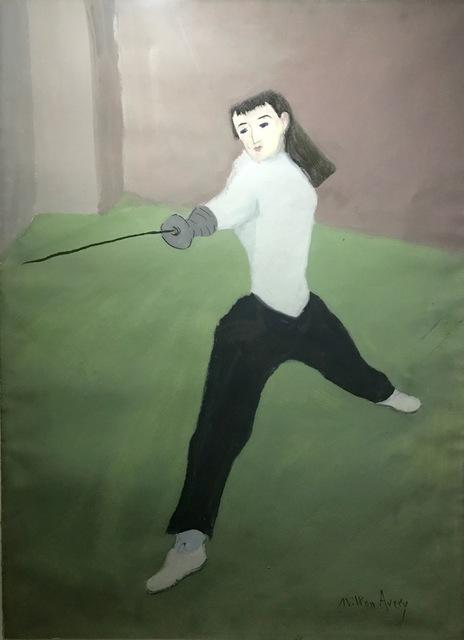 Milton Avery, 'The Fencer', 1940-1950, Swerdlow Art Group