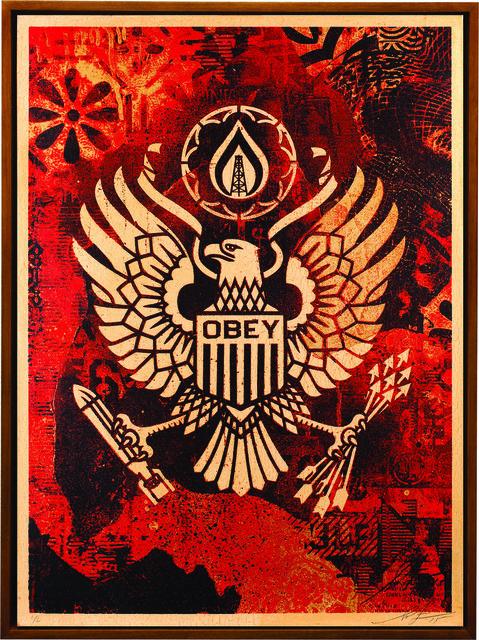 Shepard Fairey (OBEY), 'Keep It Underground', 2015, Underdogs Gallery