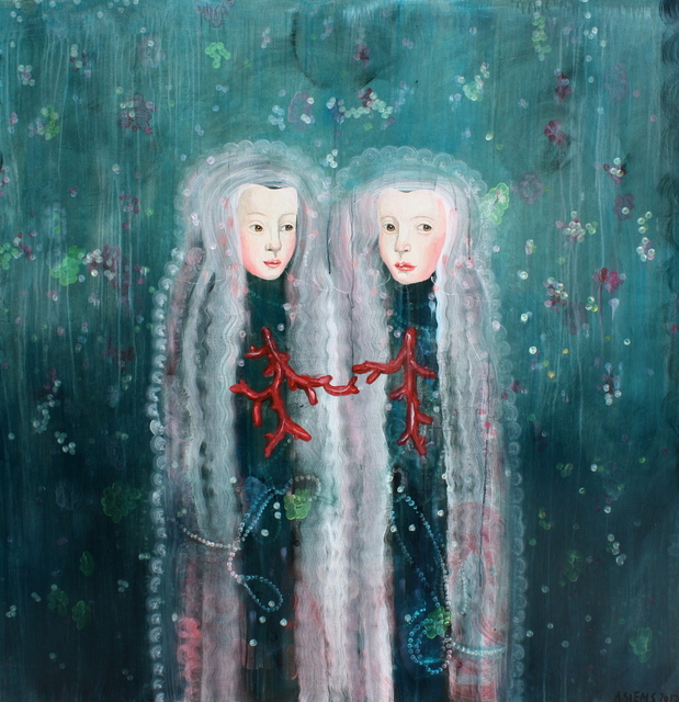, 'Two Corals,' 2017, Patricia Rovzar Gallery