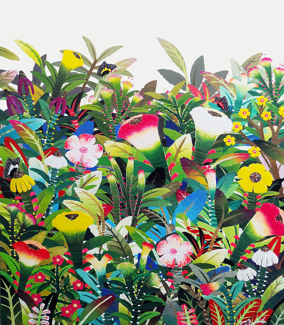 Juyoung KANG, 'Fragrance - Float', 2015, Painting, Acrylic on canvas, Joongang Gallery