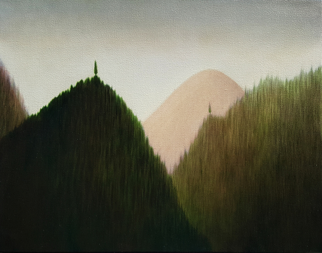, 'Three Mountain Landscape 4,' 2008, Gallery Jones