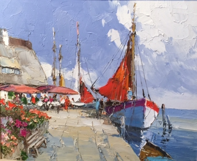 , 'Summertime France,' , Cosmopolitan Fine Arts