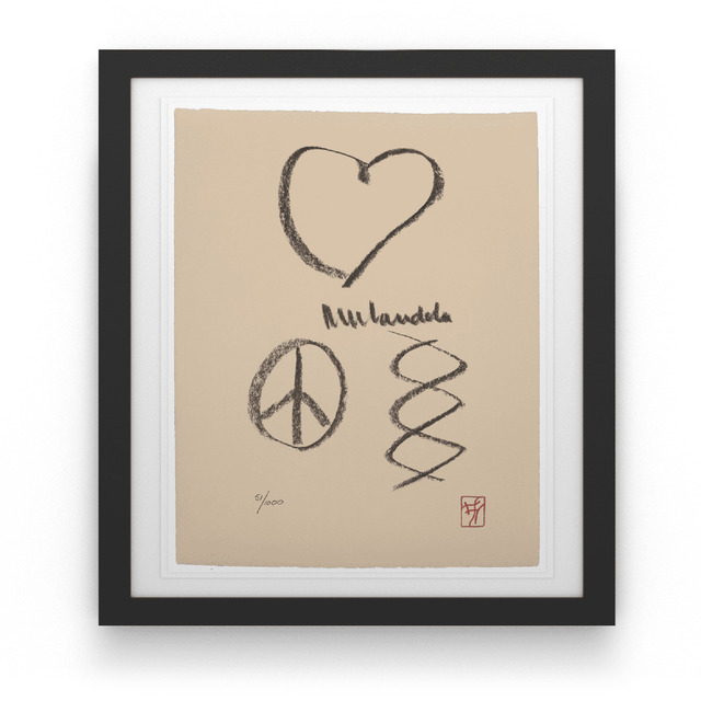 , 'Nelson Mandela's Love, Peace, Harmony,' 2004-2013, House of Mandela Art